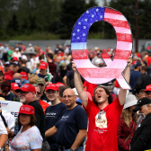 QAnon story gains credence with up to 44 percent of Americans