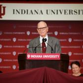 IU congratulates Lee Hamilton on his 90th birthday