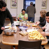 Students get a taste of Irish culture through food workshop