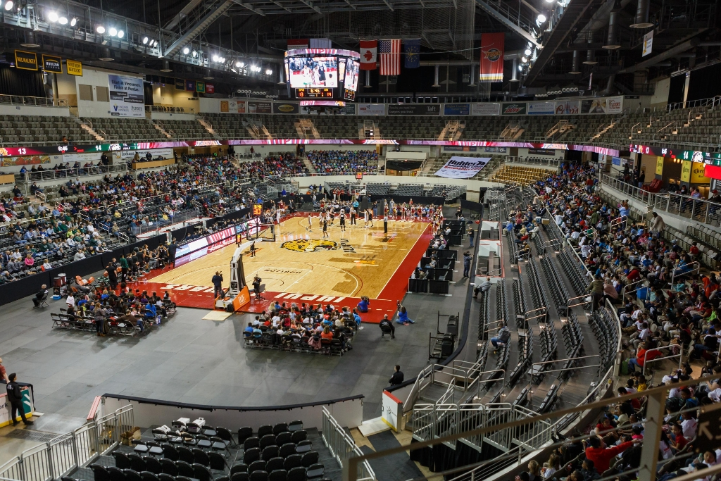 A look at the home of the 2020 Horizon League Basketball Championships: the Indiana Farmers Coliseum
