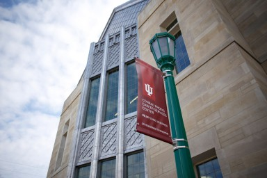 The exterior of the Conrad Prebys Career Services Center