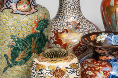 A collection of Japanese ceramics