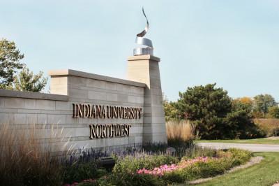 IU Northwest sign