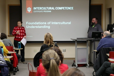 An intercultural competency training from early 2020
