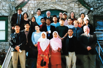Malaysian students at IU in the early '90s