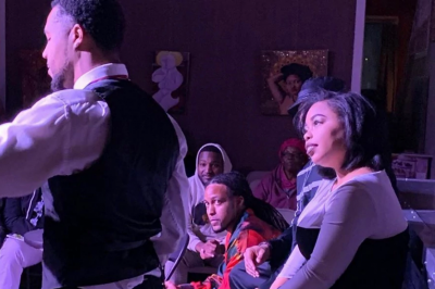 """Audiences watch Black actors perform """"A Bluesy Night"""" in November 2019"""