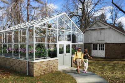 Rendering of a greenhouse being built at IU Kokomo.