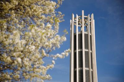 The carillon on the IU Bloomington campus