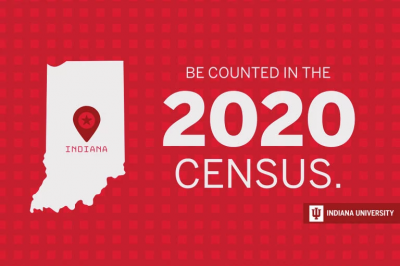 The 2020 census at Indiana University.