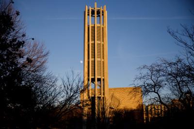 The upgraded Arthur R. Metz Bicentennial Grand Carillon.