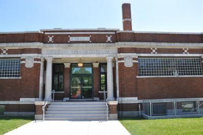 the former Engman Public Natatorium