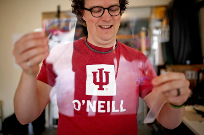 Adam Ward with the O'Neill School of Public and Environmental Affairs