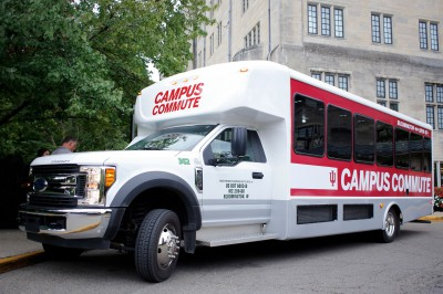Campus Commute shuttle bus
