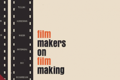 a book cover that says film makers on film making