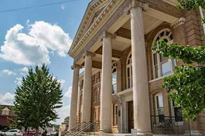 The Dubois County Courthouse in Indiana