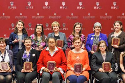 the 2017 women's leadership award winners