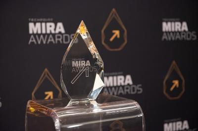 Mira Award trophy