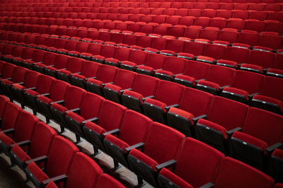 Red seats in the Musical Arts Center