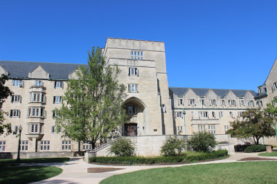 edmonson hall on the iu bloomington campus