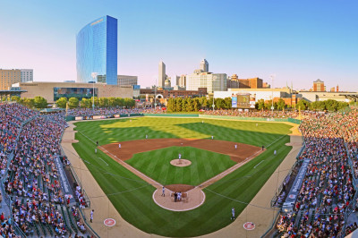 Victory Field is home to the Indianapolis Indians