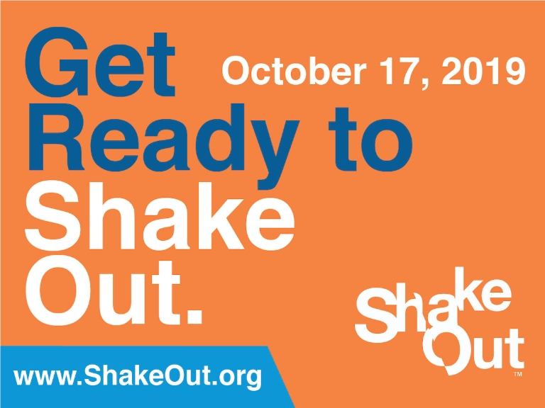 Great ShakeOut promo ad