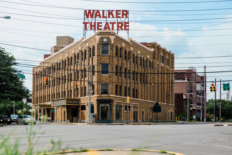 Madam Walker Legacy Center building exterior