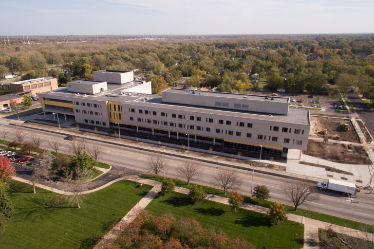IU Northwest Arts and Sciences building