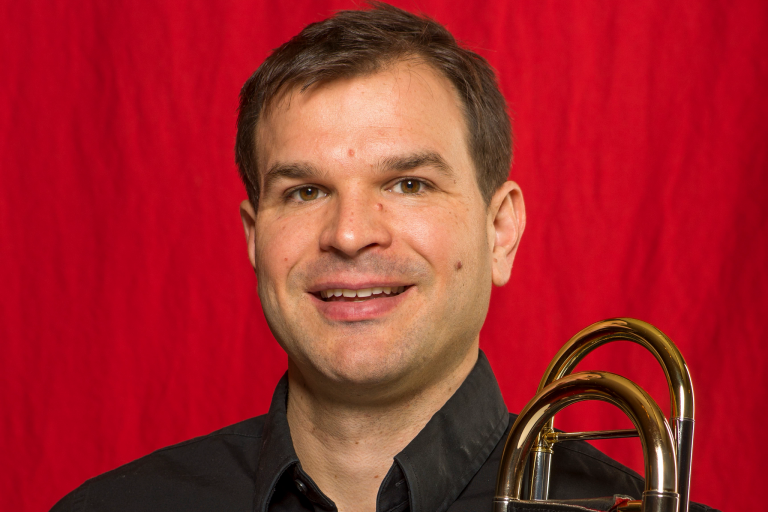Jonathan Reycraft of the St. Louis Symphony Orchestra
