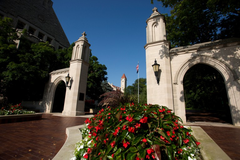 Sample Gates at IU Bloomington