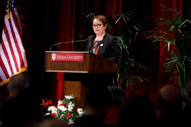 IU Bloomington provost Lauren Robel