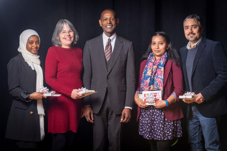 Winners of the Building Bridges awards.