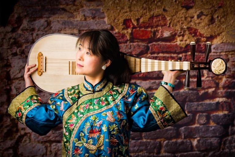 Pipa virtuoso Wu Man