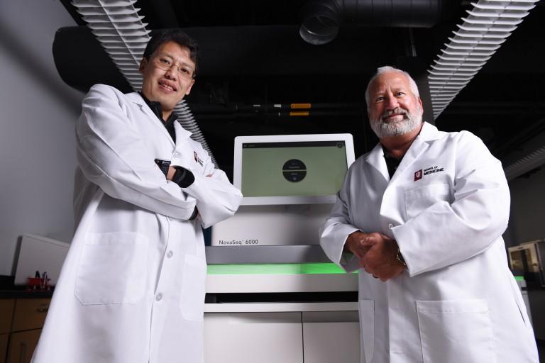Mark Geraci and Yunlong Liu