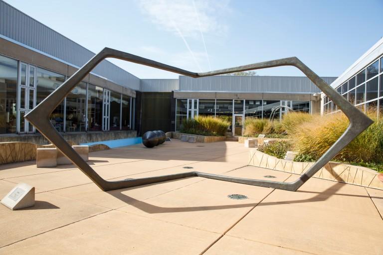 The Sculpture Garden at IU Northwest