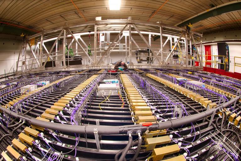NOvA neutrino detector.