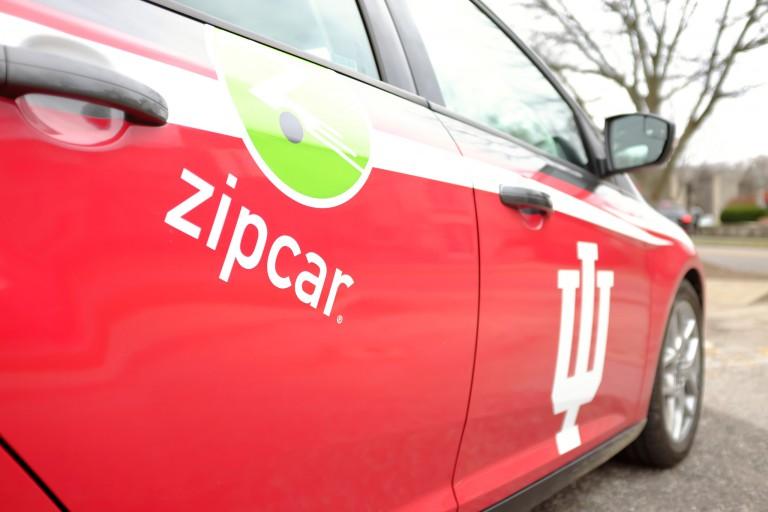 Zip cars at IU