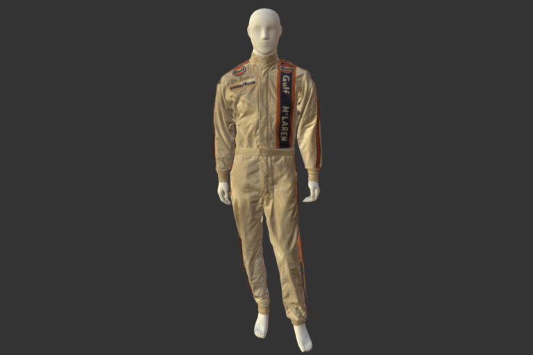 Peter Revson's racing suit