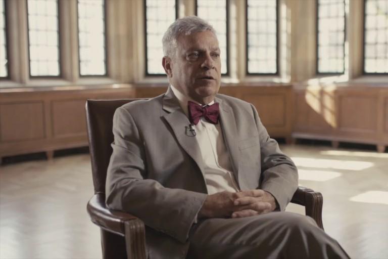 Gerardo Gonzalez in a still from an IU Press video interview