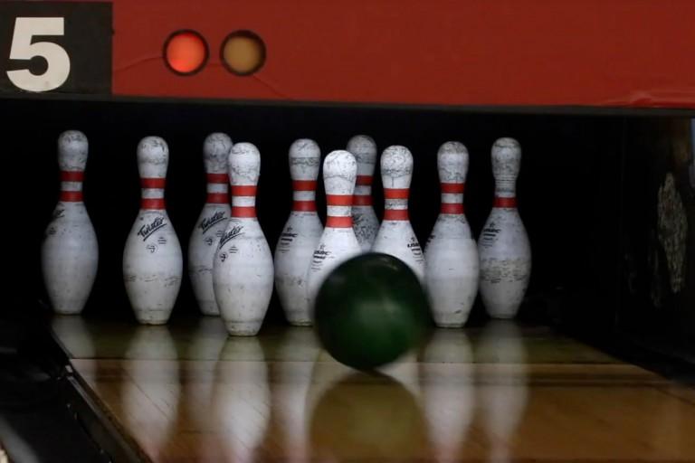 IMU bowling alley