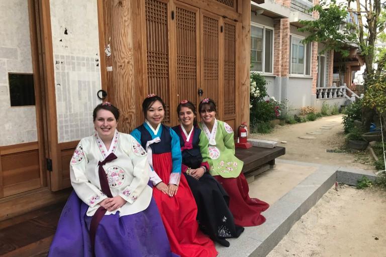 IU Kokomo students in South Korea