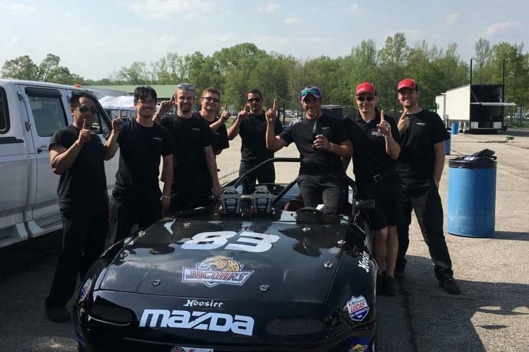 IUPUI Motorsports team