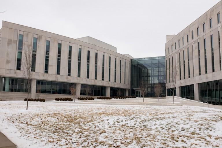 The IU Hamilton Lugar School of Global and International Studies.