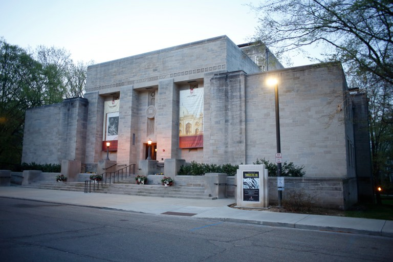 Exterior of the IU Lilly Library