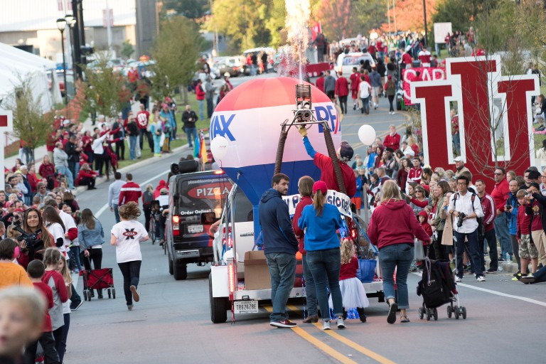 The IU Homecoming parade