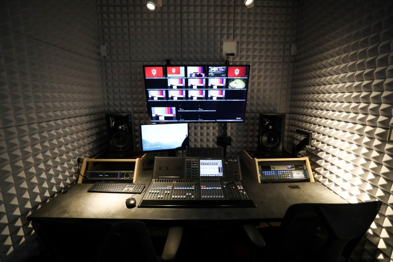 New control rooms in Assembly Hall