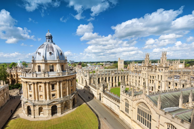 Radcliffe Camera, All Souls College, University of Oxford