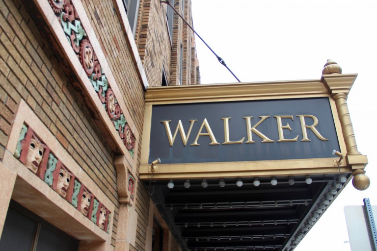 An exterior image of the Madam Walker Theatre Center in Indianapolis.