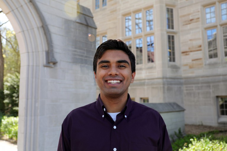 IU Bloomington student commencement speaker Eashan Kumar
