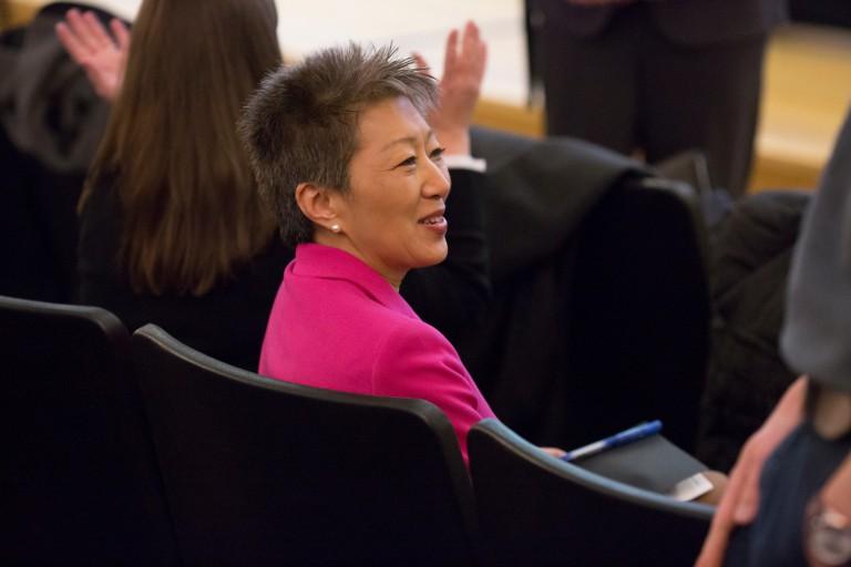 Jane Chu at IU arts symposium