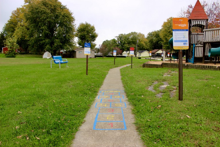 Exercise trail in Mitchell